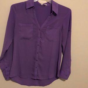 Express lavender Portofino shirt